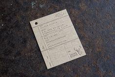 Hazel & Delt business card | Designer: Perky Bros LLC - www.perkybros.com