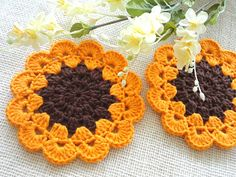 Items similar to Coaster Crochet Coasters Placemat Table linens Kitchen Decor Gift Crochet Doilies Tablecloth Crochet Doily Round Cotton Table Home Decor on Etsy Crochet Earrings Pattern, Crochet Flower Patterns, Crochet Motif, Crochet Designs, Crochet Doilies, Crochet Flowers, Crochet Stitches, Crochet Home, Crochet Gifts