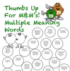 Peachy Speechie - multi meaning words