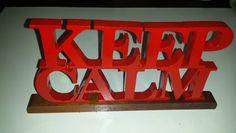 Keep Calm MDF