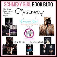 Schmexy Girl Book Blog's 14K Giveaway: http://www.schmexygirlbookblog.com/celebration-time-14k-facebook-likes-giveaway/