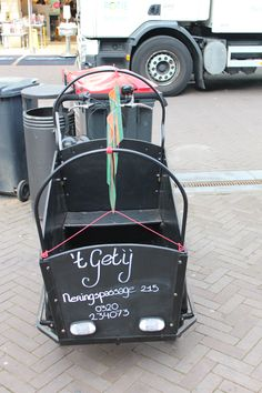 Reclame bakfiets