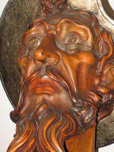 Don Quixote carving