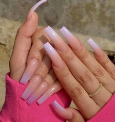 In look for some nail designs and ideas for your nails? Here's our set of must-try coffin acrylic nails for cool women. Perfect Nails, Gorgeous Nails, Pretty Nails, Nails After Acrylics, Aycrlic Nails, Glitter Nails, Fire Nails, Best Acrylic Nails, Long Square Acrylic Nails