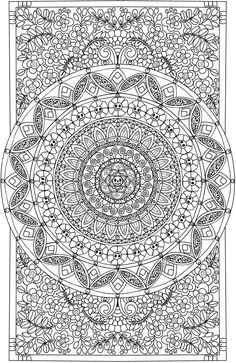 Welcome to Dover Publications - CH Eerie Entangled Art Pattern Coloring Pages, Printable Adult Coloring Pages, Flower Coloring Pages, Mandala Coloring Pages, Animal Coloring Pages, Coloring Book Pages, Mandala Pattern, Mandala Design, Mandala Doodle