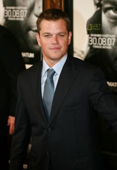 People's Sexiest Man Alive! Matt Damon - 2007
