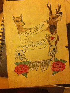 #deer #illustration #illustrator #stag #doe