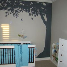 Our Nursery- tree decal
