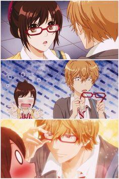 Ookami shoujo to kuro ouji :* When bae looks better in glasses than you do
