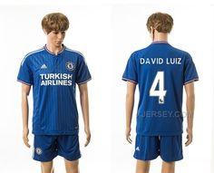http://www.xjersey.com/201516-chelsea-4-david-luiz-home-jerseys.html 2015-16 CHELSEA 4 DAVID LUIZ HOME JERSEYS Only 33.11€ , Free Shipping!
