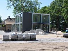 Afbeelding van Duurzaam ontvangstgebouw; Kasteeltuin Lisse. Hodes project Nijverdal