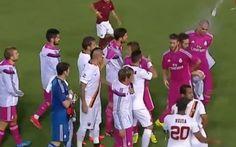 Real Madrid-Roma e il caso di razzismo: Keita lancia una bottiglia a Pepe (VIDEO)