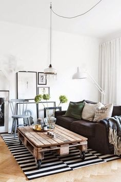 Scandinavisch industrieel interieur