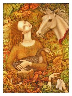 Goose Girl by Gina Litherland