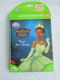 New Leapfrog Tag Book Princess & the Frog