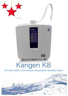Trasforma l'acqua del tuo rubinetto in ACQUA ALCALINA IONIZZATA KANGEN.