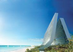 oppenheim architecture   design: marina   beach towers, dubai - designboom | architecture