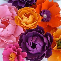 MIX Flowers - Handmade Paper Flowers