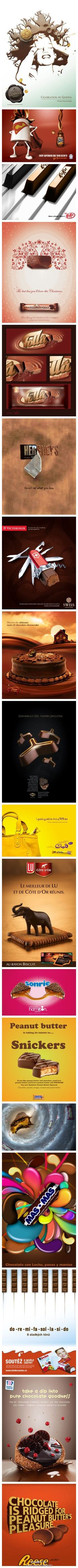 Chocolate ads