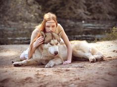 wolf girl******** That's a husky.not a wolf. Beautiful Creatures, Animals Beautiful, Cute Animals, She Wolf, Wolf Girl, Wolf Spirit, Spirit Animal, Husky Tumblr, Wolves And Women