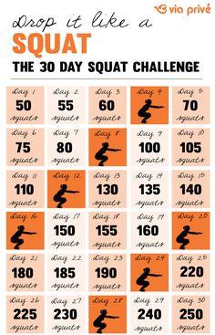 The 30 Day Squat Challenge  www.viaprive.com/via-prive/blog