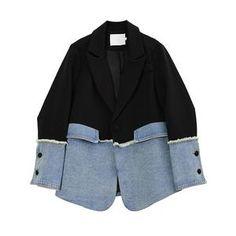 Women Blazer Jacket Coat Work Wear Blazer #Leggings #dresses #Leggings #Legging #miniskirt #fashion #skirt #legs #highheels #pantyhose #tights #SHORT #HOTSHORT #SHORTS #HOTSHORTS #model #style #work #womenwork #coat #womencoat #womancoat#coats #blazer #womanblazer #workwear #dress #dresses #interview #meet #meeting #date #dating #love #women #girl #lady #office #dinner #outfit #casual #cute #highheel #party #top #tops #blouse #blouses #jacket #office #PANT #PANTS #wedding #party  #couple Denim Blazer, Blazer Jacket, Suit Fashion, Fashion Outfits, Womens Fashion, Blazers For Women, Jackets For Women, Women Blazer, Looks Style
