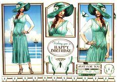 Debbi Moore Designs - Elegant Moments card toppers #2