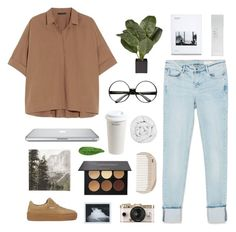 """Untitled #652"" by keziakaligis ❤ liked on Polyvore featuring Donna Karan, Zara, Mr. Coffee, The Fine Bedding Company, HAY, Urban Outfitters, NARS Cosmetics, Abyss & Habidecor, H&M and Puma"