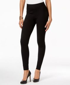 INC International Concepts Curvy-Fit Control-Panel Skinny Pants, Only at Macy's