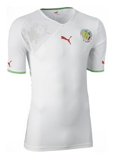Senegal (Fédération Sénégalaise de Football) - 2010/2011 Puma Home Shirt