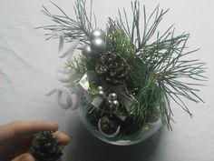 Cómo hacer un centro de mesa navideño