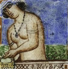 """ΦΩΤΗΣ ΚΟΝΤΟΓΛΟΥ: """"η λουομένη """"Η παρούσα ζωγραφία εφιλοτεχνήθη όπως εν σχήμασι γραπτοίς διαμένη πρό τών ομμάτων εις αιώνα ο κύκλος τής ελληνικής φυλής, από τών πρώτων αυτής προπατόρων μέχρι τών καθ' ημάς…Εζωγραφήθη δέ μετά πόθου καί φιλοτιμίας πολλής φαντασία καί χειρί Φωτίου Κόντογλου τού εκ Κυδωνιών τής Μικράς Ασίας"""" Sculpture, Blog, Painting, Masters, Master's Degree, Painting Art, Sculptures, Blogging, Paintings"""