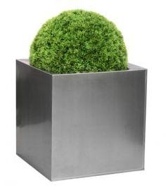 Zinc Galvanised Silver Cubes - Sets