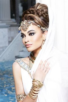 head wear for the modern Indian bride