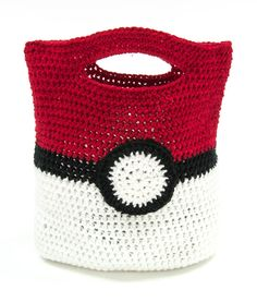 Check out this free Mary Maxim exclusive Pokemon Trainer Bag pattern! Share with…