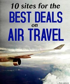 Check out these sites to save money on air travel.
