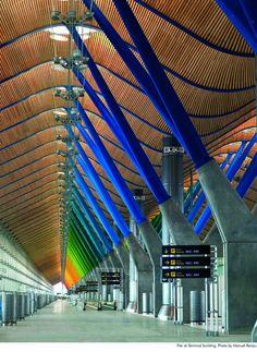 Barajas Airport (madrid, españa) Photo by Manuel Renau, via Josephine Holmboe