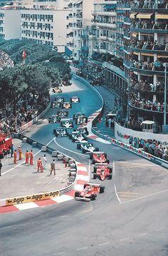Monaco Grand Prix start 1979