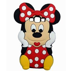 Cute Stitch Minnie Mouse Rubber Case For iPhone 7 6 Plus SE Soft Silicone Cartoon Cover Back For iPhone 8 7 Capa Iphone 6, Coque Iphone, Iphone Cases, Cartoon Smile, 3d Cartoon, Diy Coque, Coque Huawei P9 Lite, Red Minnie Mouse, Cute Stitch