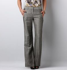 Julie Herringbone Trouser Pants. Julie size 6  is the only pant that fits me in the waist with a little drape.