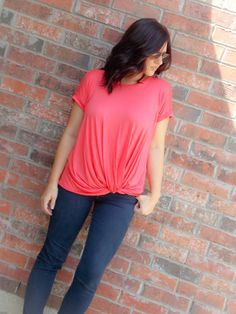 Coral Knot Tee – Armoured Belle Boutique