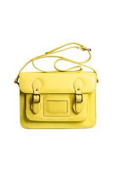 Yellow Buckles Satchel Bag [AB0725] - $79.99 :  romwe.com #Romwe