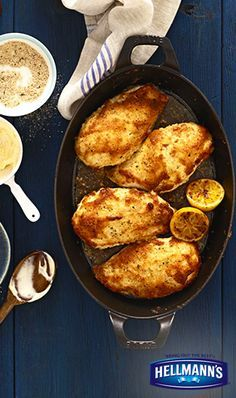 A classic that never gets old...Parmesan Crusted Chicken, yum.