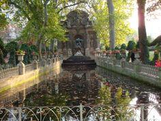 Medici Fountain, Jardin de Luxembourg Paris