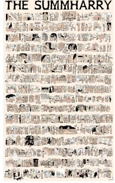 Lucy Knisleys Summharry Retells The Complete Harry Potter Series In One Comics Panel See