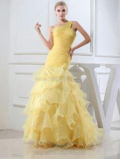 Yellow Wedding Gown