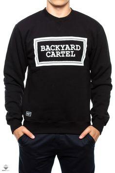 Bluza Backyard Cartel Label Logo