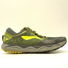 d8327d6afb9fa Brooks Mens US 11.5 EU 45.5 Caldera 2 Green Park Appalachian Trail Running  Shoes  Brooks