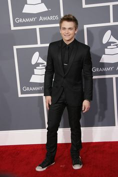Hunter Hayes at the Grammys 2013
