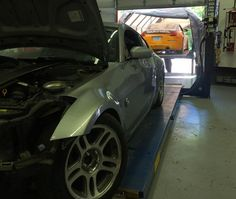 It's Z-Day here at AJW Performance! Maintaining the drift car and a full on overhaul of the silver one! #ajwperformance #driftcars #nissan #350z #z #rwd #skids #tandems